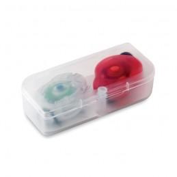 """BYLUX - 2 """"ochi de pisică"""" în cutie PP MO8070-99, Multicolour"""