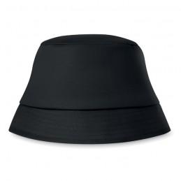 BILGOLA - Pălărie de soare. Bumbac 160 grKC1350-03, Negru