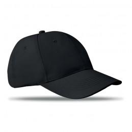 BASIE - Șapcă cu 6 panele              MO8834-03, Negru