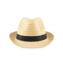 BOOGIE - Pălărie din paie naturale      MO9341-03, Negru