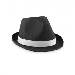 WOOGIE - Pălărie colorată din paie      MO9342-03, Negru