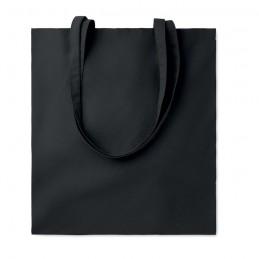 COTTONEL COLOUR + - Sacoşă cumpărături cu mânere   MO9268-03, Negru