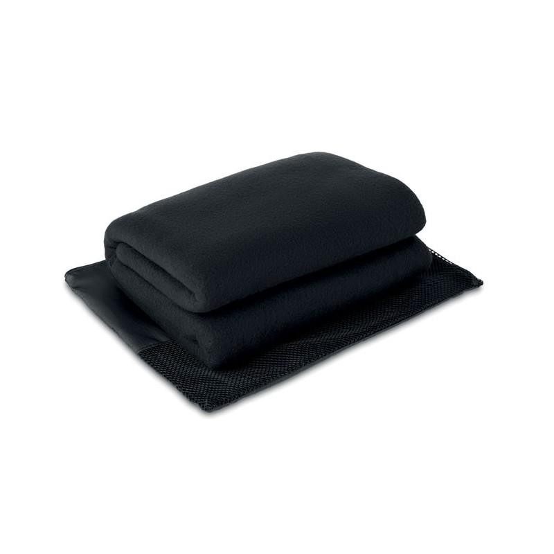 MANTAWAY - Pătură din fleece 150 g/m2     MO9781-03, Negru