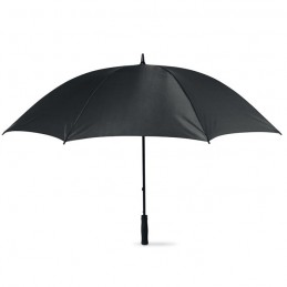 GRUSO - Umbrelă golf rezistent la vânt KC5187-03, Negru