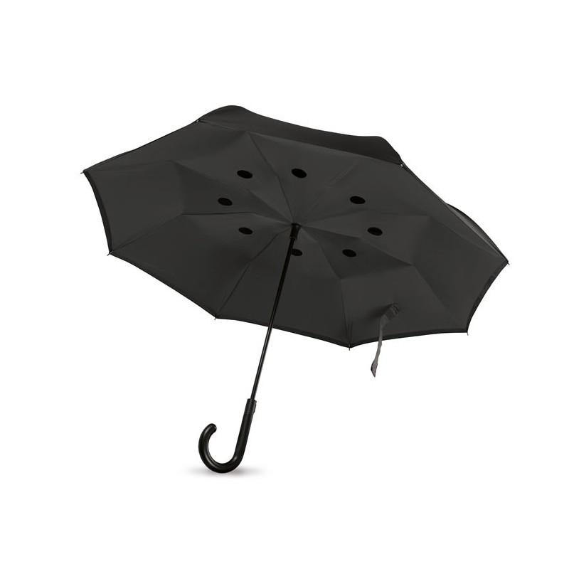 DUNDEE - Reversible umbrella            MO9002-03, Negru