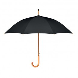 CUMULI RPET - Umbrelă de 23.5 inchi RPET     MO9629-03, Negru
