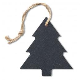 SLATETREE - Ornament brad din ardezie      CX1433-03, Negru