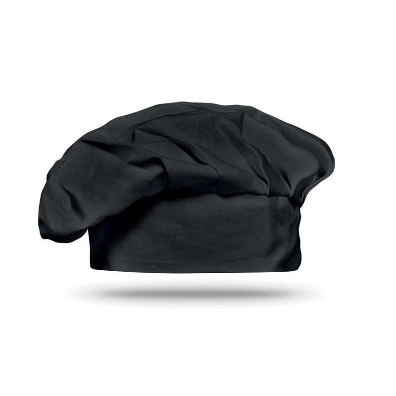 CHEF - Bonetă chef 130 gr/m2          MO8409-03, Negru