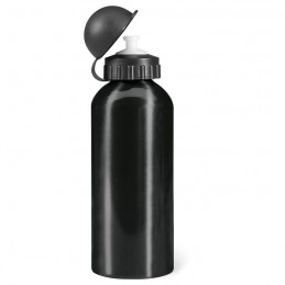 BISCING - Sticlă metalică. Volum 600 ml. KC1203-03, Negru