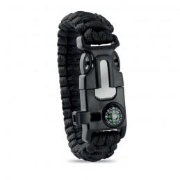 SURVIVAL - Brățară de siguranță personală MO9563-03, Negru