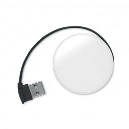 ROUNDHUB - Port USB 4 intrări             MO8671-03, Negru