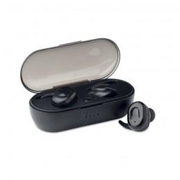 TWINS - Căști TWS, cutie de încărcare  MO9754-03, Negru