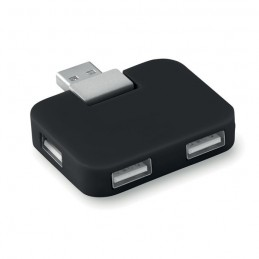 SQUARE - Extensie USB                   MO8930-03, Negru