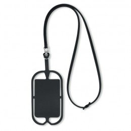 SILIHANGER - Suport silicon telefon         MO8898-03, Negru