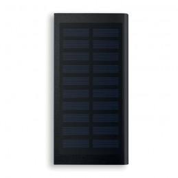 SOLAR POWERFLAT - Baterie externă solară 8000mAh MO9051-03, Negru