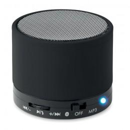 ROUND BASS - Boxă rotundă Bluetooth         MO8726-03, Negru
