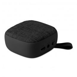 ROCK - Boxă BT textilă pătrată        MO9260-03, Negru