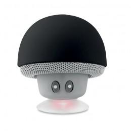 MUSHROOM - Boxă Bluetooth cu ventuză.     MO9506-03, Negru