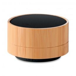 SOUND BAMBOO - Boxă Bluetooth din bambus 3W   MO9609-03, Negru