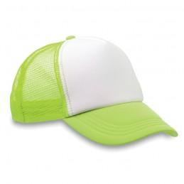 TRUCKER CAP - Şapcă din poliester (plasă, în MO8594-68, neon green