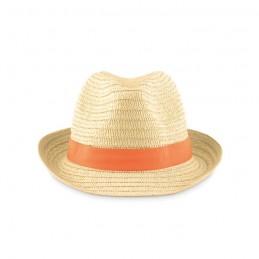 BOOGIE - Pălărie din paie naturale      MO9341-10, Portocaliu