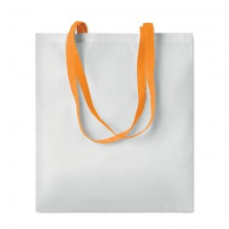 SUBLIM COTTONEL - Sublimation shopping bag       MO9559-10, Portocaliu