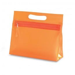 MOONLIGHT - Borsetă transparentă din PVC   IT2558-10, Portocaliu