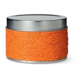 DELICIOUS - Lumânăre parfumată în cutie    IT2873-10, Portocaliu