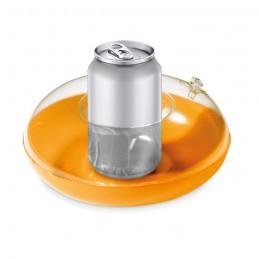 CANNY - Suport gonflabil pentru pahar  MO9789-10, Portocaliu