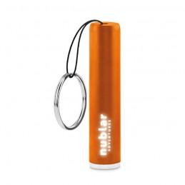 SANLIGHT - Lanternă plastic, logo luminos MO9469-10, Portocaliu