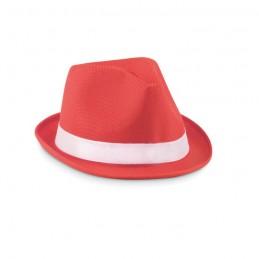 WOOGIE - Pălărie colorată din paie      MO9342-05, Rosu