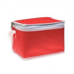 PROMOCOOL - Geantă frigorifică pt. 6 doze  MO7883-05, Rosu
