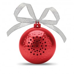 JINGLE BALL - Boxă glob de Crăciun           CX1449-05, Rosu
