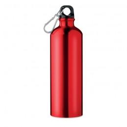 BIG MOSS - Sticlă din aluminiu 750 ml     MO9350-05, Rosu