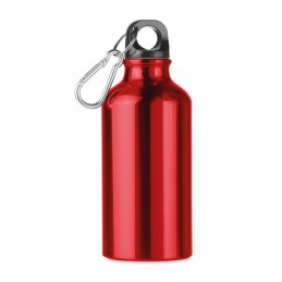 MID MOSS - Sticlă din aluminiu de 400 ml  MO9805-05, Rosu