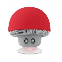 MUSHROOM - Boxă Bluetooth cu ventuză.     MO9506-05, Rosu