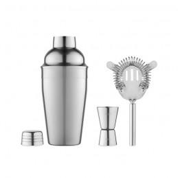 FIZZ - Set coctail cu shaker          KC4298-17, Shiny silver