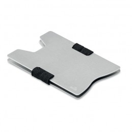 SECUR - Suport RFID aluminiu           MO9437-14, Silver