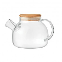 MUNNAR - Ceainic de borosilicat         MO9963-22, Transparent