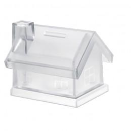 MYBANK - Pușculiță casă din plastic     MO7242-22, Transparent