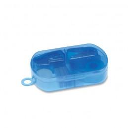 BUROBOX - Set papetărie în cutie plastic MO7623-23, Transparent blue