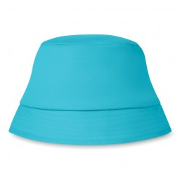 BILGOLA - Pălărie de soare. Bumbac 160gr KC1350-12, Turquoise