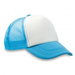 TRUCKER CAP - Şapcă din poliester (plasă, în MO8594-12, Turquoise