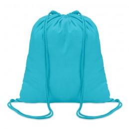 COLORosu - Sacoşă din bumbac 100 gr/m2, c MO8484-12, Turquoise
