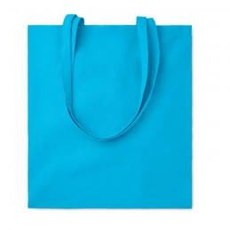 COTTONEL COLOUR ++ - Sacoșă cumpărături din bumbac  MO9846-12, Turquoise
