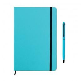 NEILO SET - Set carnet notițe              MO9348-12, Turquoise