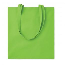 COTTONEL COLOUR + - Sacoşă cumpărături cu mânere   MO9268-48, Lime