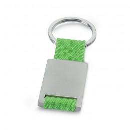 TECH - Breloc dreptunghiular metalic  IT3020-48, Lime