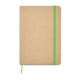 EVERWRITE - Notes A5 din carton reciclat   MO9684-48, Lime