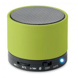 ROUND BASS - Boxă rotundă Bluetooth         MO8726-48, Lime